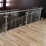 Открытый балкон безрамные многослойное закаленное стекло поручень