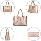 여자 핸드백 고정되는 최고 손잡이 4PCS 핸드백 어깨에 매는 가방 운반물 지갑