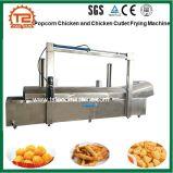 Popcorn-Huhn-und Huhn-Kotelett-Stöcke, die Maschine braten und Maschine herstellen