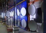 Antena de prato parabólica da faixa 45ku ao ar livre, pratos satélites