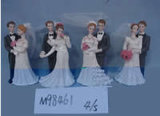 Figuras de casamento de polietileno