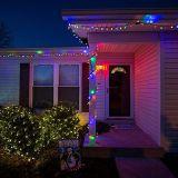 Van LEIDENE van de Verlichting van de vakantie Gloeilamp C7 Kerstmis van de Kaars de Lichte 0.5W E12