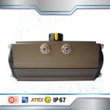 Actuador neumático de la venta caliente con el rectángulo de interruptor de límite