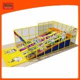 Детский мягкий играть оборудование подвижного состава в торговый центр и школа