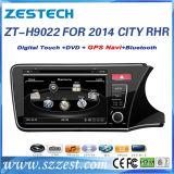 Ajustement pour le véhicule 2014 de ville de Honda DVD avec les multimédia par radio de navigation de GPS