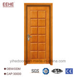 Birma-Teakholz-hölzerne Tür formt Lack-Farben-hölzernes Tür-Polnisches