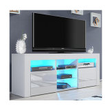 Hohe Glanz-Vorderseite LCD-Fernsehapparat-Standplatz-Entwurfs-Modelle