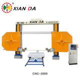 Marble Granite Xianda CNC-2000/2500/3000를 위한 철사 Saw Cutter Machine
