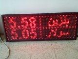 En rojo Texto mostrar tarjeta electrónica LED exteriores P10