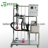 Distillation de chemin court avec le système de chauffage de pompe de vide
