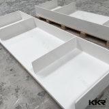 Vanità di marmo artificiale commerciale della stanza da bagno dell'hotel