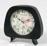 Reloj hecho a mano antiguo del metal del vector