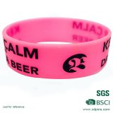 Kundenspezifischer Firmenzeichen-SilikonWristband für Ereignis (xd-63)