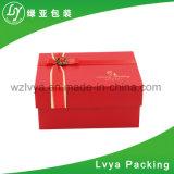 Rectángulo de joyería de empaquetado del regalo de la venta del papel del embalaje caliente de la cartulina
