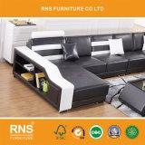 D801 un style moderne salle de séjour grand canapé confortable