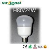 45W E27 160-265V Plastik-+ des Aluminium-LED Glühlampe mit