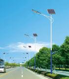 8m LEDのポーランド人が付いている太陽街灯