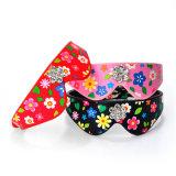 Collare di cane dentellare fiori durevoli della sciarpa dei bei