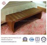 بسيطة فندق غرفة نوم أثاث لازم مع خشبيّة سرير مقادة ([يب--1])