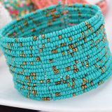De recentste Retro MultiRijen Geparelde Armband van Bohemen & Armband, de Juwelen van de Manier