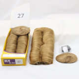 Dlme 27 Pieces Short Wave humanly Hair Extension