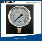 Olio di refrigerazione di Resour - manometro riempito