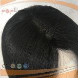 Menschenhaar-doppelte Knoten-Haut-Perücke (PPG-l-0873)