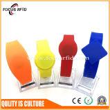 13.56MHz Wristband/pulsera del PVC RFID para el control de acceso