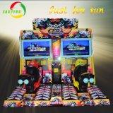 Dos jugadores popular carrera de motocicletas llama juego de carreras de coches de la máquina con pantalla LCD