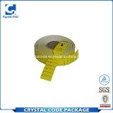 Etiqueta da alta temperatura adhesiva imprimible de encargo para el hierro
