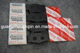 La famosa pastilla de freno coche Japón 04466-33180 para Toyota Camry Acv40