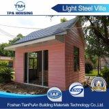 Buon disegno della villa chiara modulare prefabbricata della struttura d'acciaio