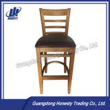 Hby02 Taditional Bar en bois chaise, tabouret de bar