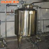 Grau alimentício aquecimento depósito de mistura de vapor em aço inoxidável