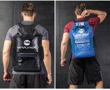 China Factory 22 Litros mochila impermeável Saco seca com confortáveis alças a tiracolo almofadada preta