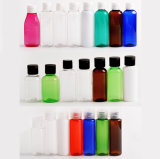 Freies Beispielbunter Haustier-Shampoo-Flaschen-Arbeitsweg-Plastikflasche (PT01)