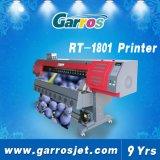 impressora industrial do solvente de Eco do grande formato do cortador 3D da etiqueta 1440DIP de 1.8m/3.2m