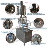 Halb-Selbstpasten-Füllmaschine mit Zufuhrbehälter für Paprika-Soße (GZA-2)