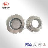 Medidas sanitarias de acero inoxidable 304/ 316L Tipo de unión de la mirilla de la soldadura