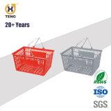 슈퍼마켓을%s 플라스틱 회전 쇼핑 바구니