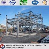 Costruzione pesante della struttura d'acciaio con il multi piano
