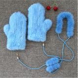 Природные ягненок меховые рукавицы Тан малыша пов0000116/зимний сад и вещевого ящика