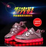 Дети под руководством обувь мода аккумуляторов индикатор обувь