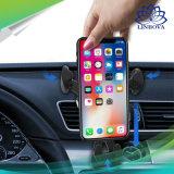 5W Qi coche cargador rápido de soporte de teléfono inalámbrico girar libremente montado Radioteléfono Soporte Soporte Soporte Wireless Cargador Dash