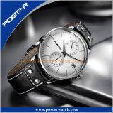 Relógio de pulso de vidro abobadado Sunray curvado Chronoscape do seletor de Japão