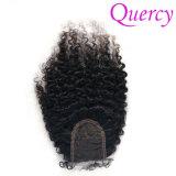 卸売価格(LC-026)の2018高品質のアフリカのカールの毛のレースの閉鎖