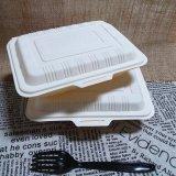 Rectángulo de almuerzo durable no del olor disponible biodegradable