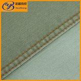 Салатовая ткань джинсовой ткани для джинсыов и кальсон