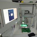 Robot de distribution adhésif de distribution de type intégral d'étage