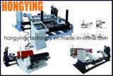 220V El voltaje de la máquina de corte de alta velocidad, el papel de la máquina de corte longitudinal con rollos impresos